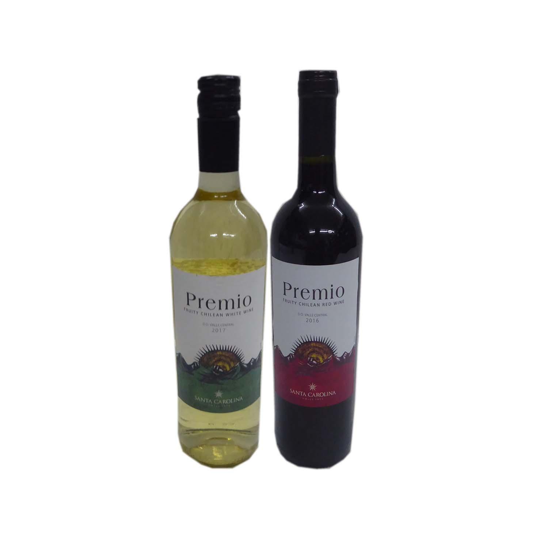 Premio Chilean Wine White/Red 750ml