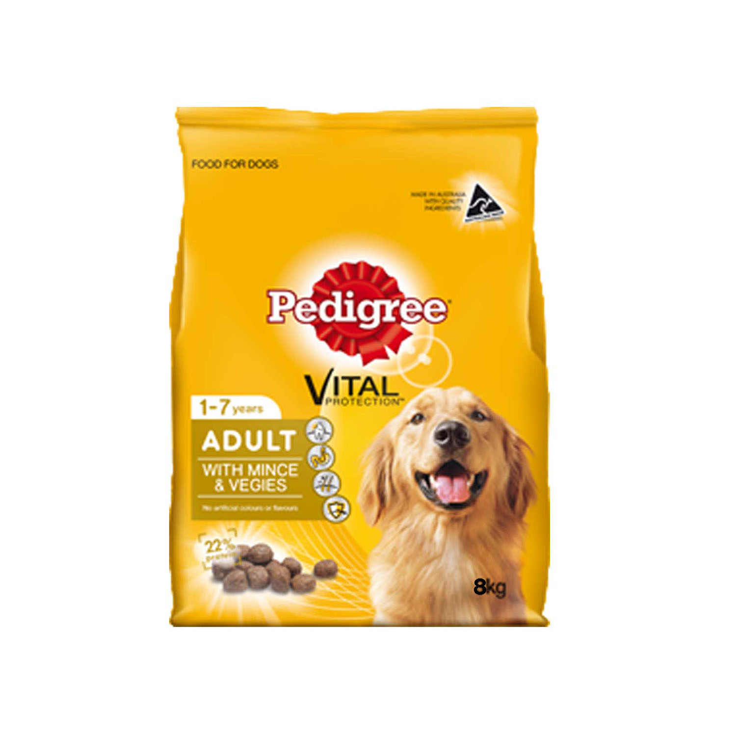 Pedigree Adult Minced Veg 8 kg