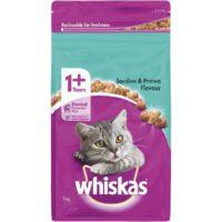 Whiskas Adult Sardine/Prawn 1 kg