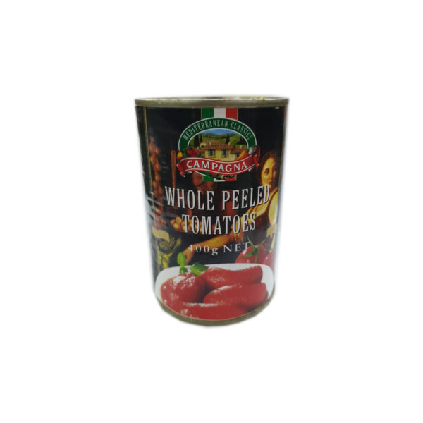 Campagna Whole Peeled Tomatoes 400g