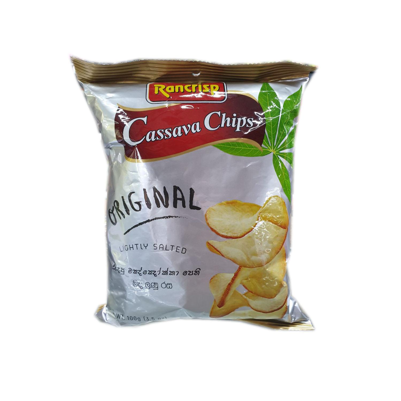 Rancrisp Cassava Chips - Original 100g