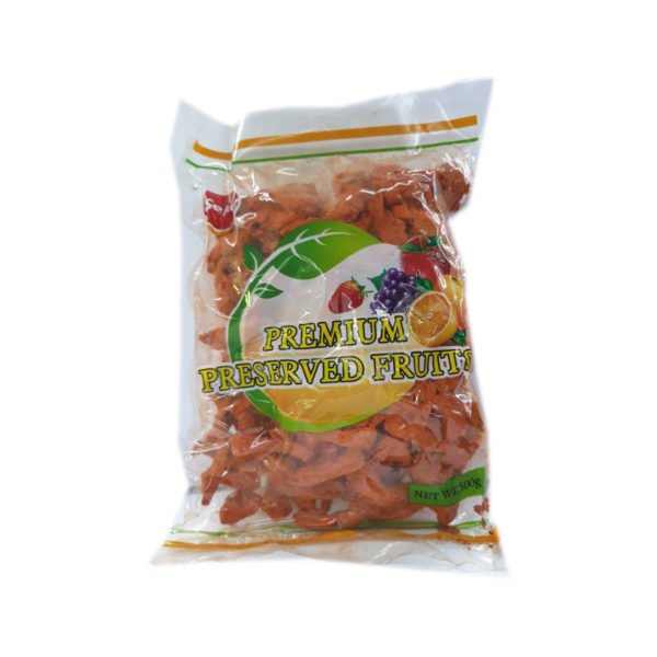 Dried Fruit - Red Salted Ginger 500g