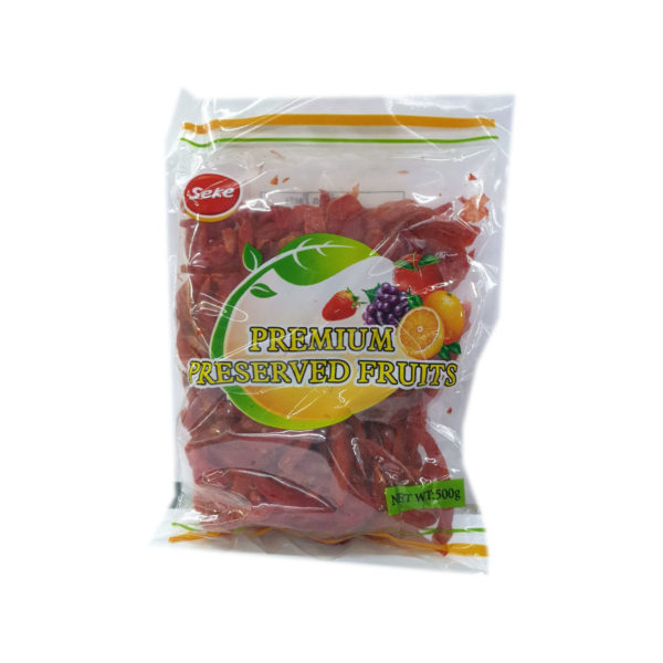 Dried Fruit - Red Wet Ginger 500g