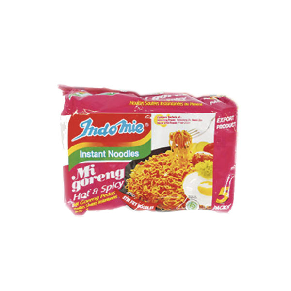 Indomie Instant Noodles - Hot & Spicy 5 Pack