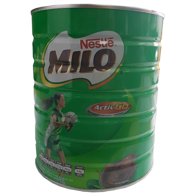 Nestle Milo Active - 1.5kg Tin