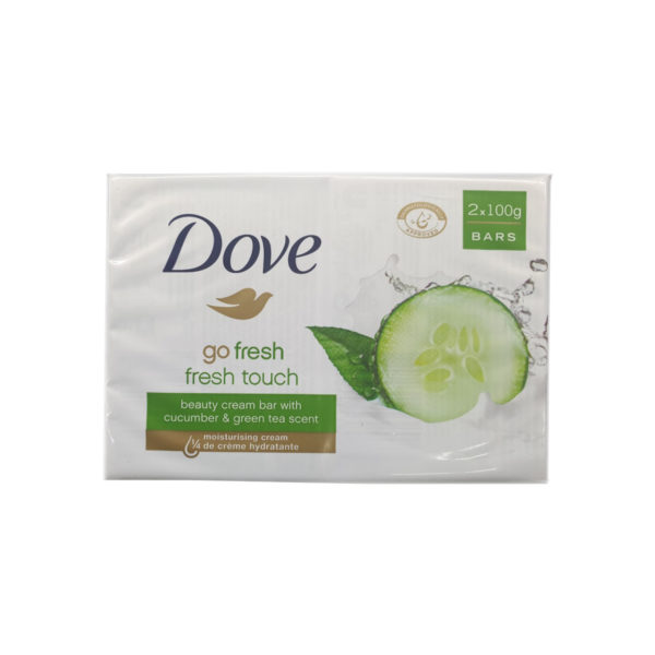 Dove Beauty Soap - Fresh Touch 2 x 100g Pack
