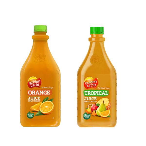 Golden Circle Juice 2 Ltr Asst