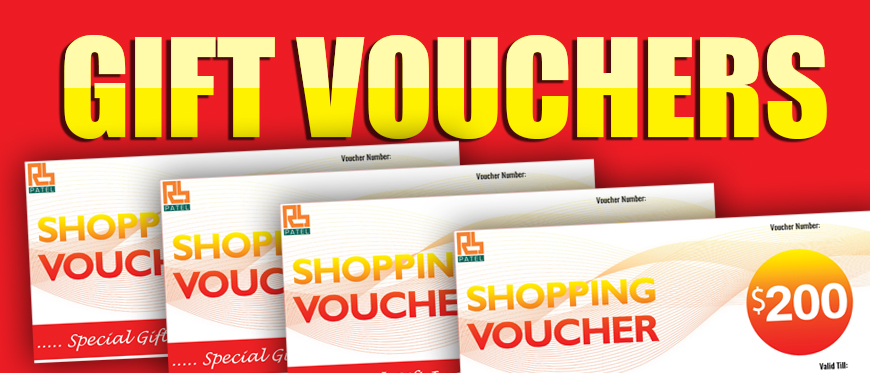 Gift vouchers - RB Patel Group