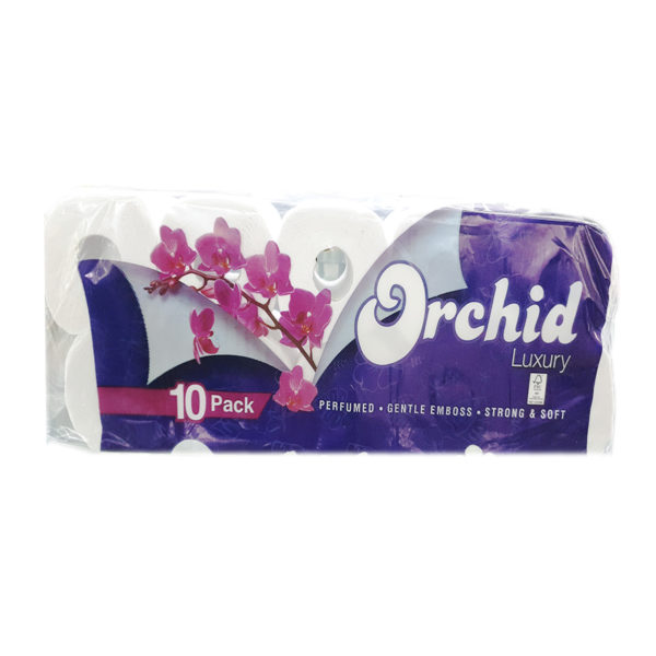 Orchid Luxury Toilet Paper 10s