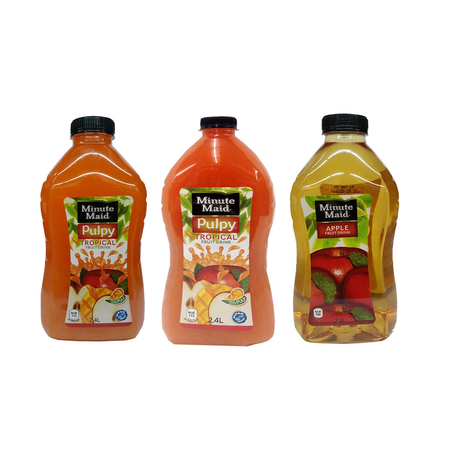 Minute Maid Pulpy Juice 2.4 L Asst