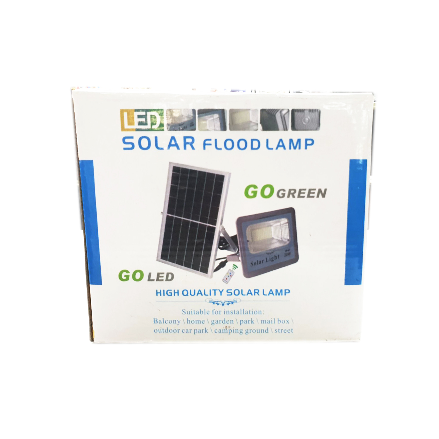 Solar Flood Lamp #31809.1450.21