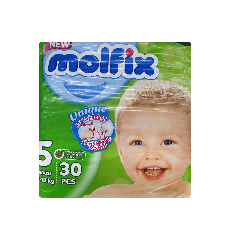 Molfix Baby Diapers XL - 30 Pcs