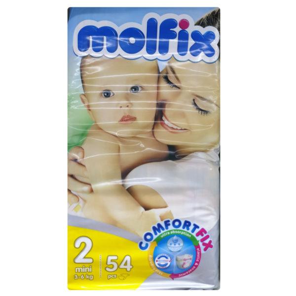 Molfix Baby Diapers S - 54 Pcs