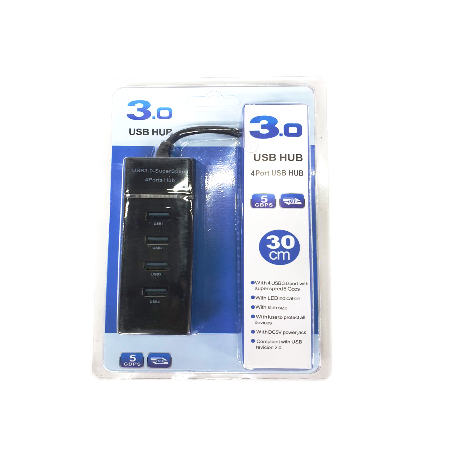 Multi Charger 4 Port USB HUB #31908.0580.21