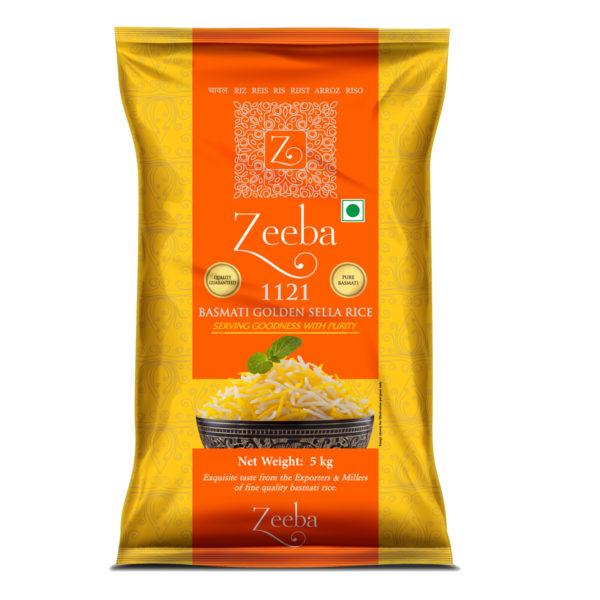 Zeeba Basmati Rice - Sella 5kg