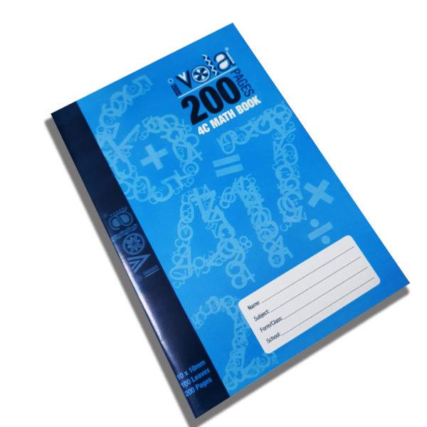 I Vola A4 Maths Book 200pgs