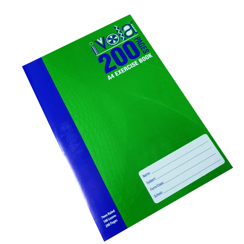 I Vola A4 Exercise Book 200pgs