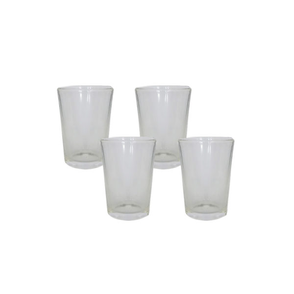 Glass Tumbler Taki Size #RCM (4 FOR)