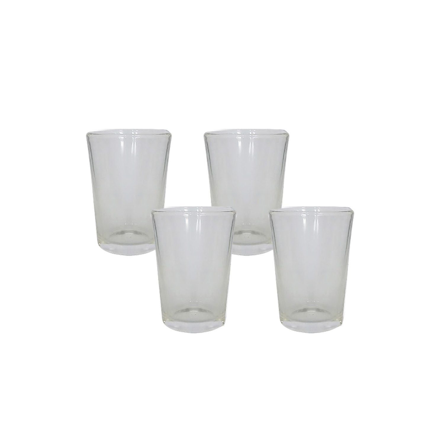 Glass Tumbler Taki Size  (4 FOR) #31908003115