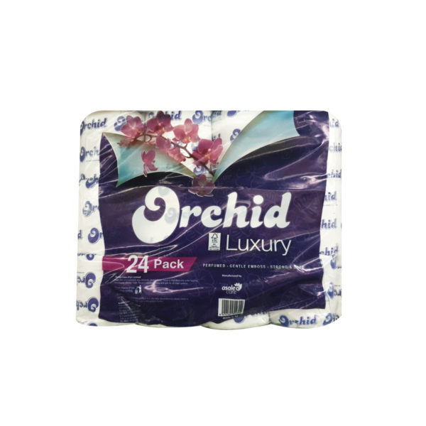 Orchid Toilet Paper - Luxury 24s