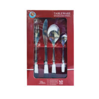 16 Pcs Stainless Steel Cutlery Set #31710.0190.16