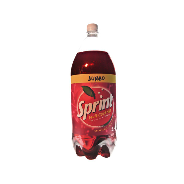 Sprint Jumbo Juice 2.5L - Fruit Cocktailis