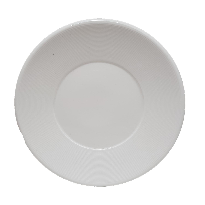 10.5inch White Round Plate #31907090099