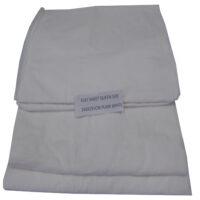 White Flat Sheet Queensbed 240x295cm #41808033011