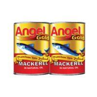 Angel Gold Mackerel - Natural Oil 2 x 425g