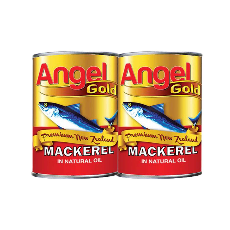 Angel Gold Mackerel - Natural Oil2 x 425g