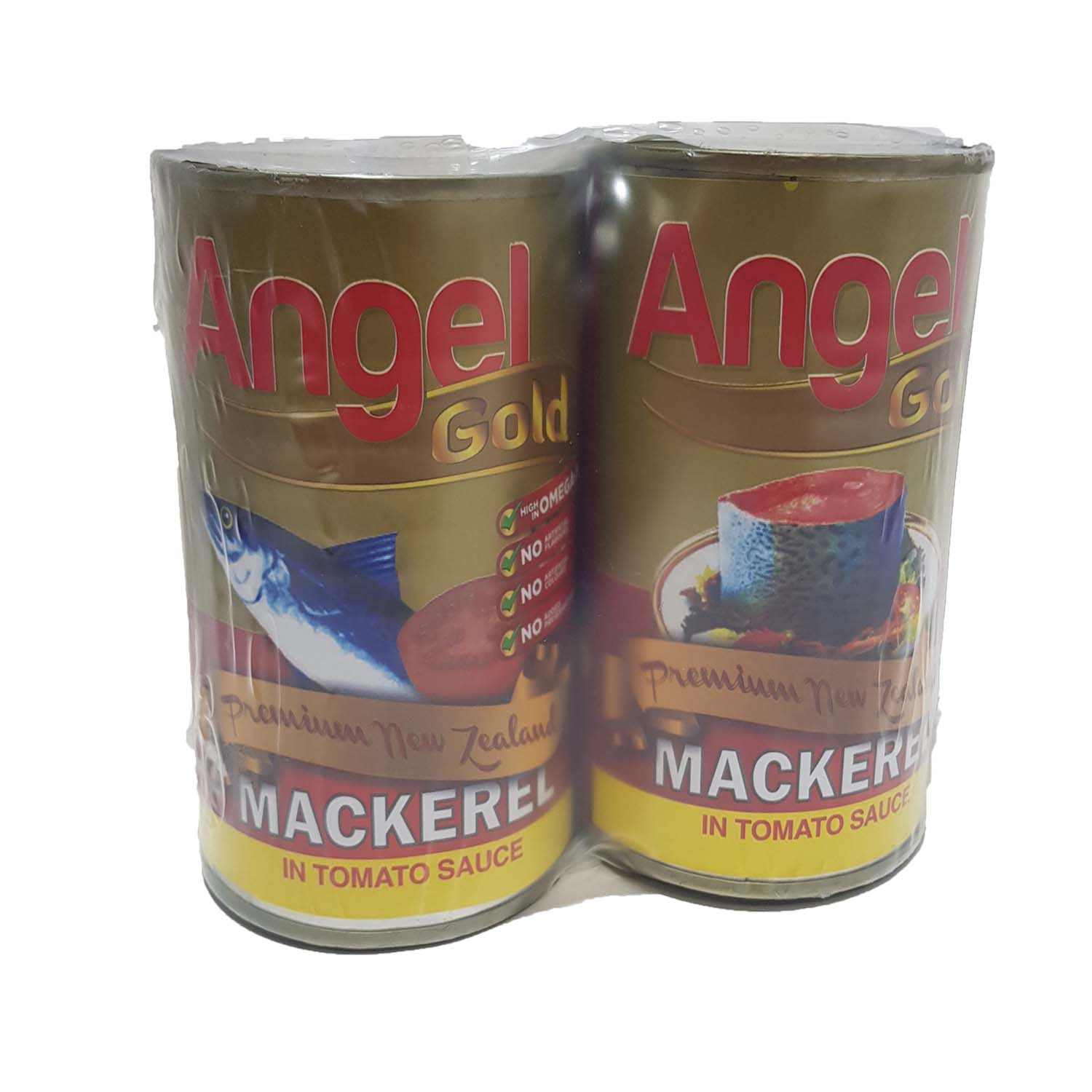 Angel Gold Mackerel - Tomato Sauce 2 x 425g