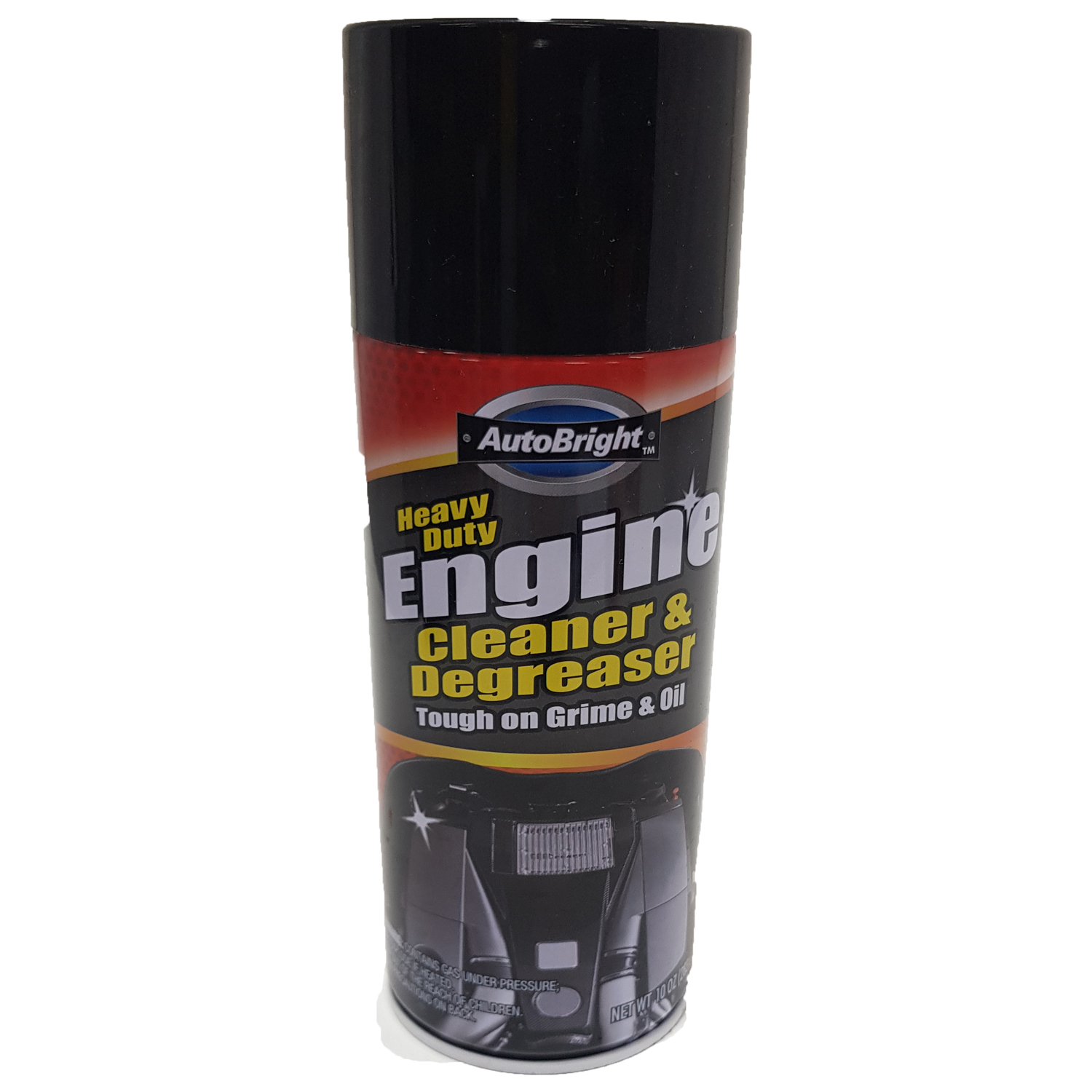 AUTOBRIGHT 10oz Foaming Engine Degreaser 283g