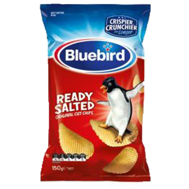 BlueBird Potato Chips - Ready Salted 150g