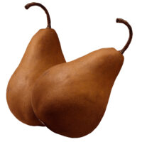 Brown Pear (Each)