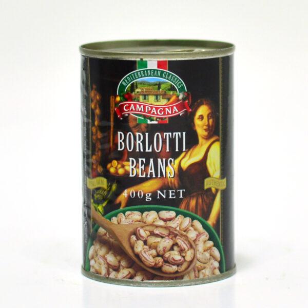 CAMPAGNA Borlotti Beans 400g