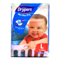 Drypers Diapers - Large 44's