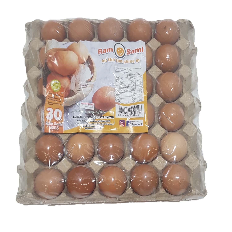 Ram Sami Eggs 30's x 660g