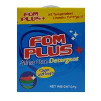 FOM Plus + Detergent Powder 3kg