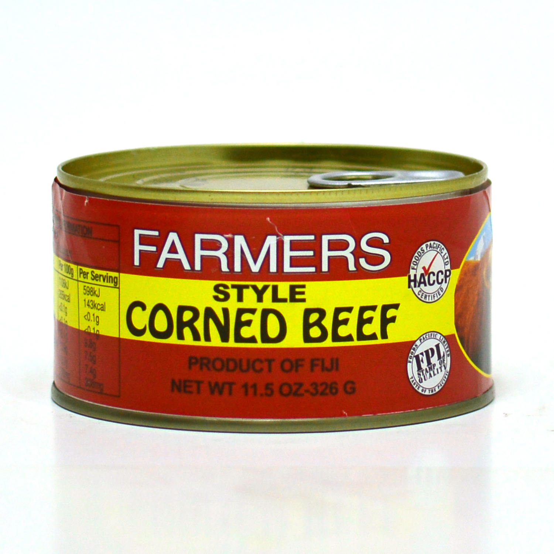 Farmers Style Corned Beef 326g