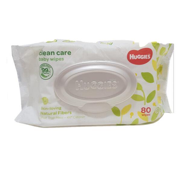 Huggies Wipes - Natural Care 80's