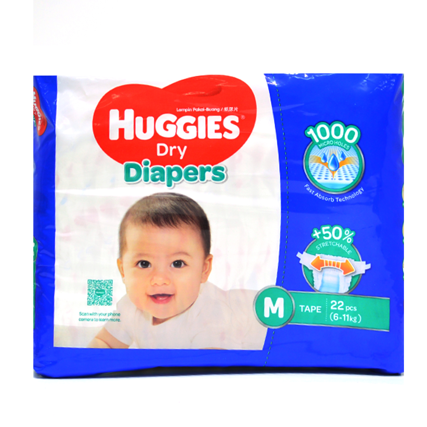 Huggies Diapers - Medium 22's