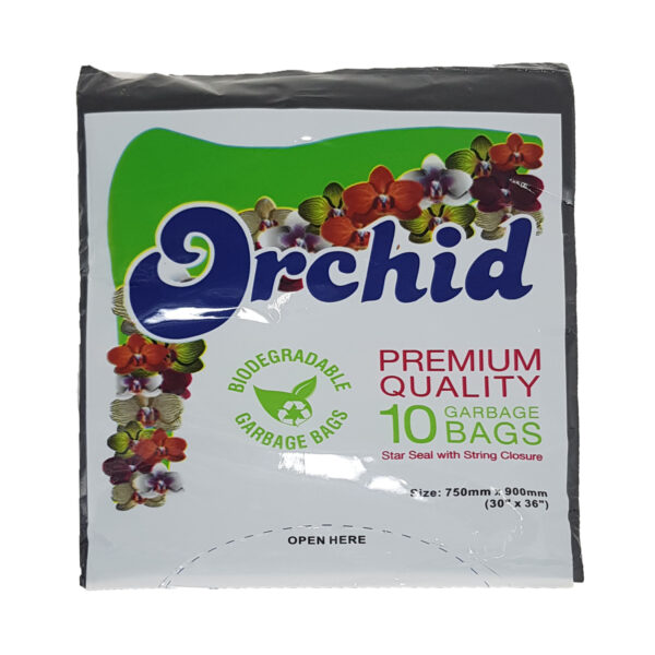 Orchid Garbage Bags 10's
