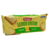 Oxford Brights Cream Biscuits - Lemon 125g
