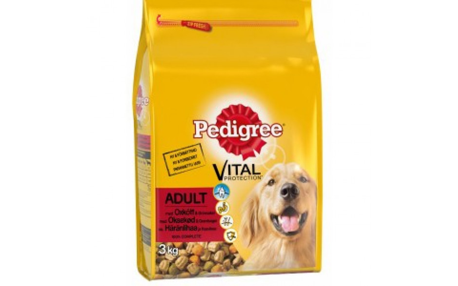 Pedigree Adult with Real Beef 3kg