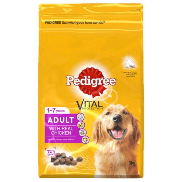 Pedigree Adult with Real Chicken 3kg