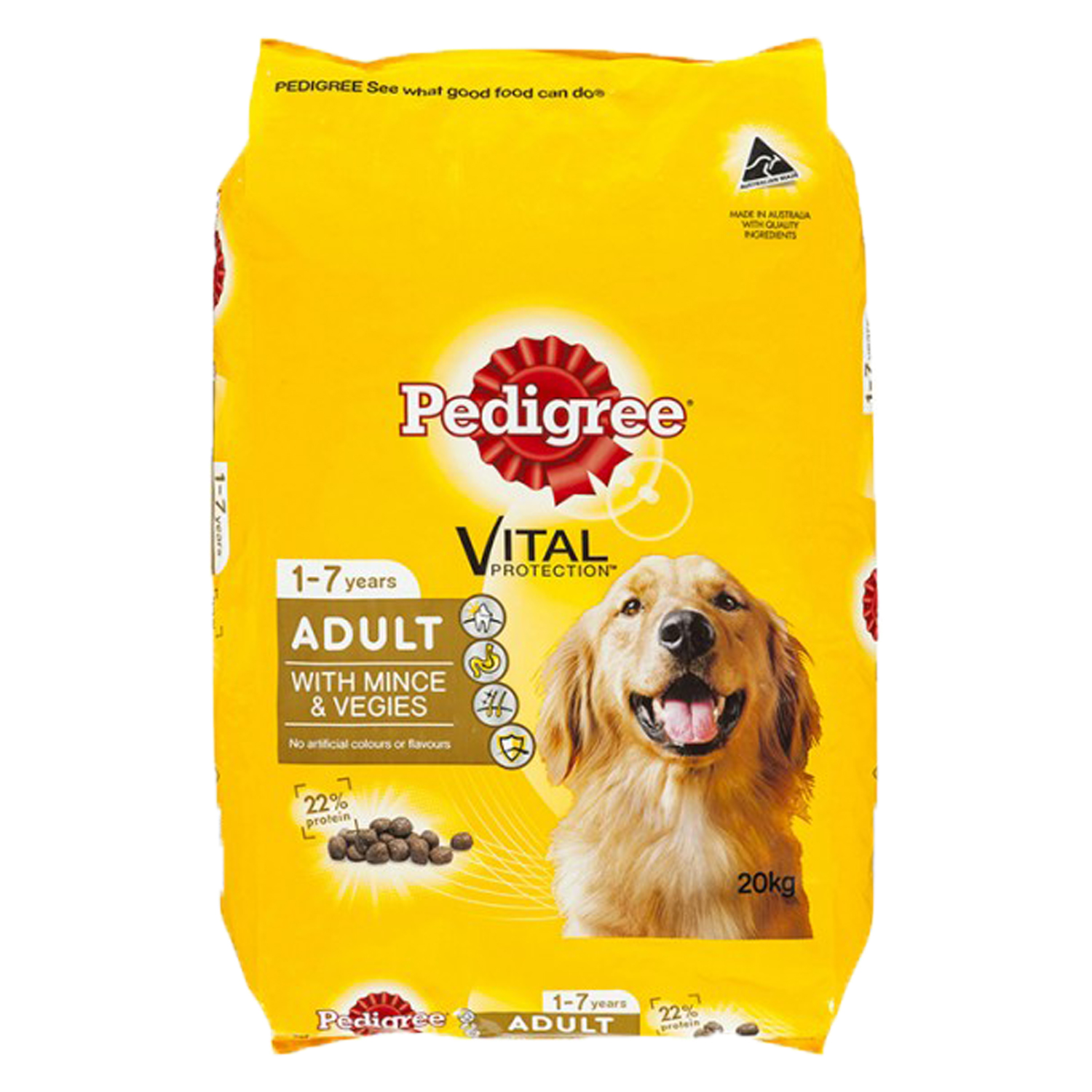 Pedigree Adult Mince & Veggie 20kg