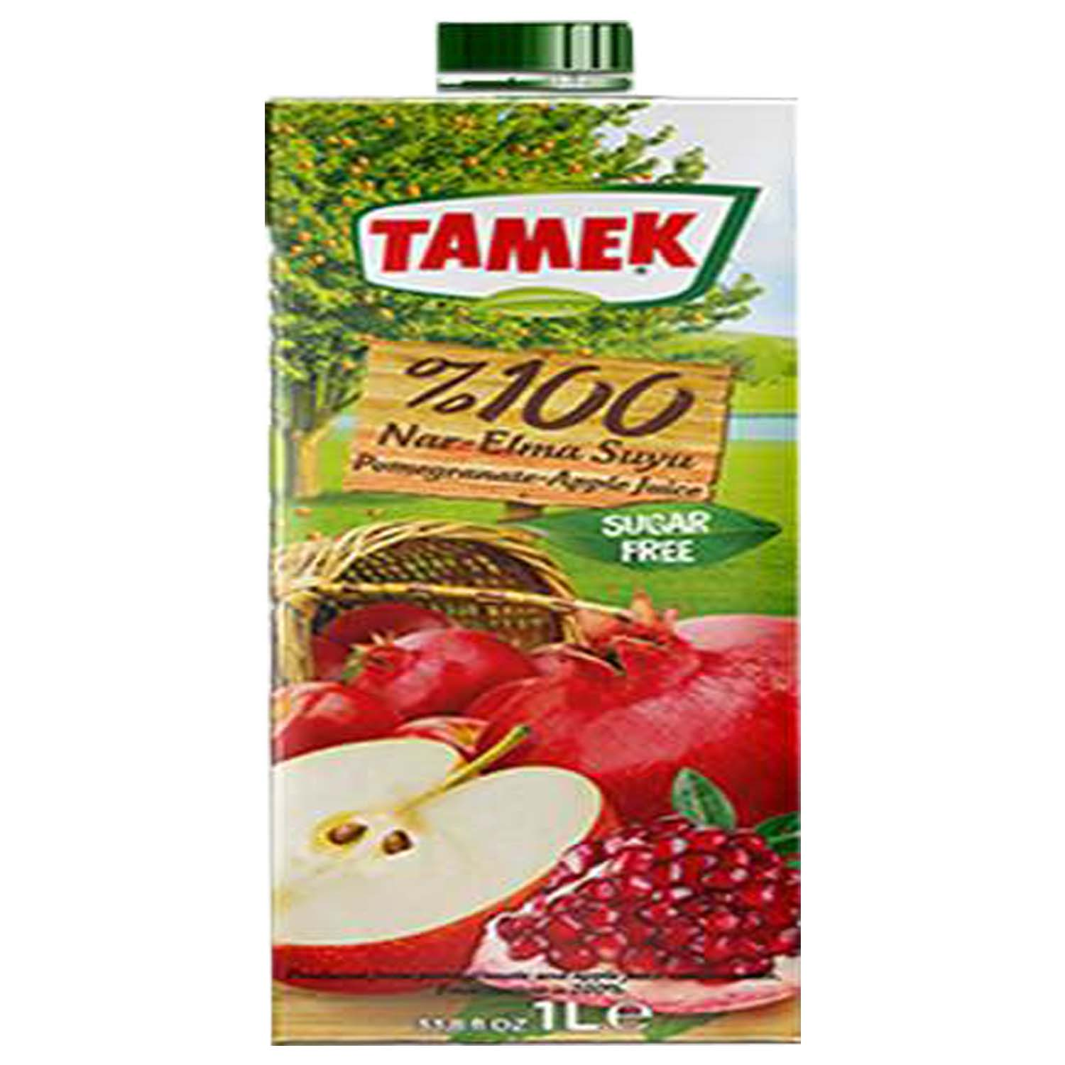 Tamek 100% Pomegranate Apple Juice	1ltr