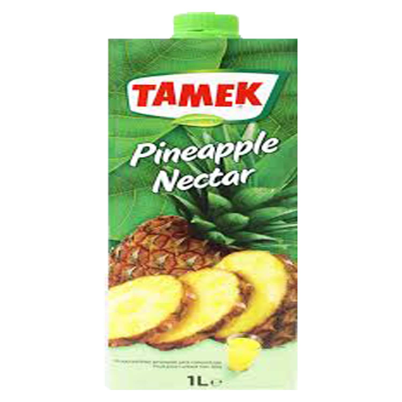 Tamek 100% Pineapple Juice - No Added Sugar 1ltr