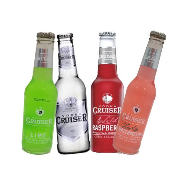 Vodka Cruiser 4 x 275ml Asst