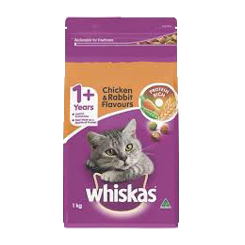Whiskas Adult Chicken & Rabbit 1kg